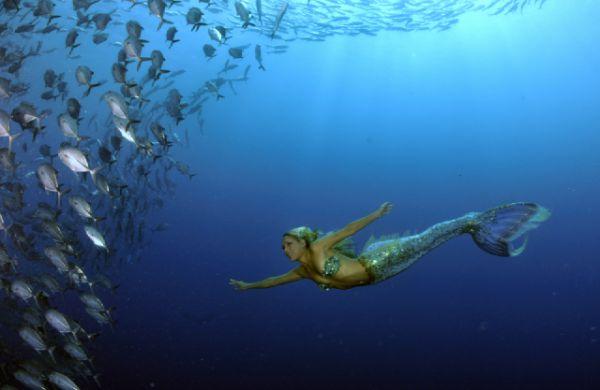 人魚のようなハンナ・フレイザー(Hannah Fraser) 9