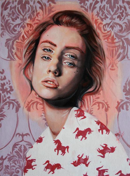 ダブルビジョンの錯視絵画アート  アレックス・ガーランド 13