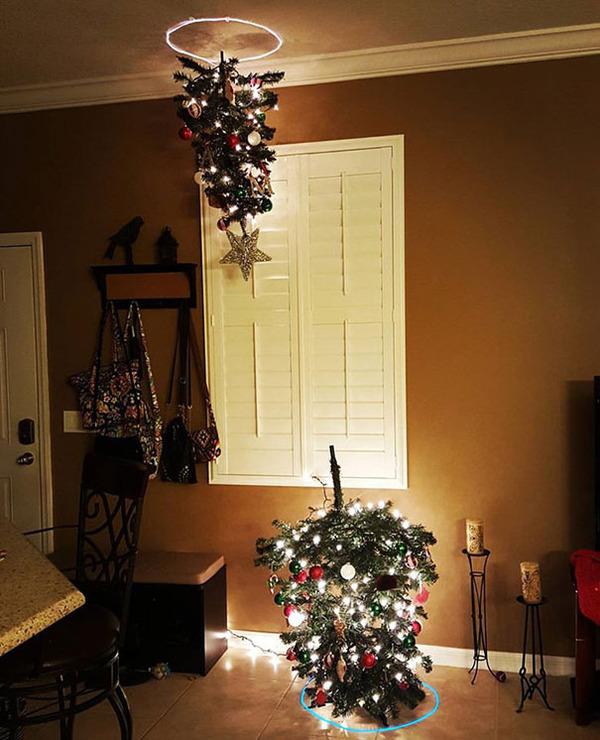 一味違ったちょっとクリエイティブなクリスマスツリー画像! (4)