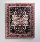 すごいリアル。ゴージャスなペルシャ絨毯を限りなく再現した絵画