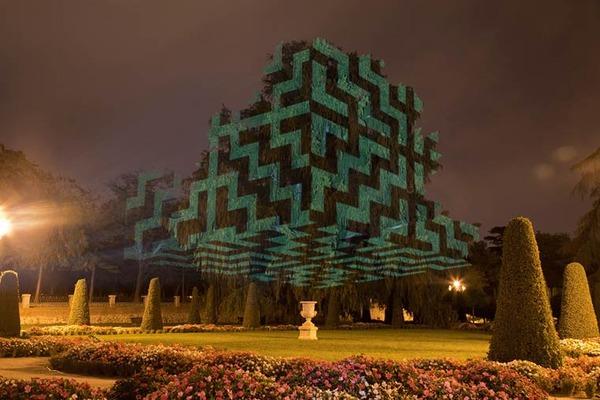 ハビエルリエラの幾何学的なアート