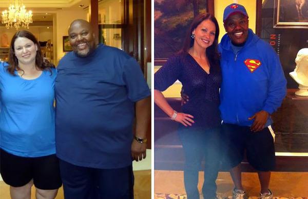 【比較画像】太ったカップルが痩せた (3)
