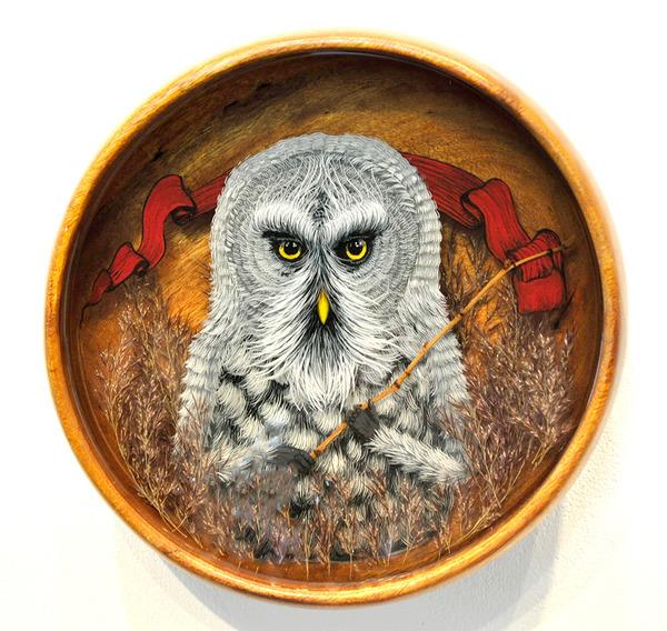 人間に進化したかのような森の動物アート Drew Mosley 6