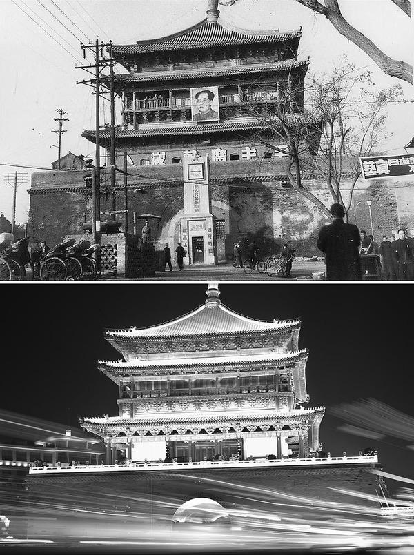 発展した中国の都市風景を比較!過去と現在の画像100年 (15)