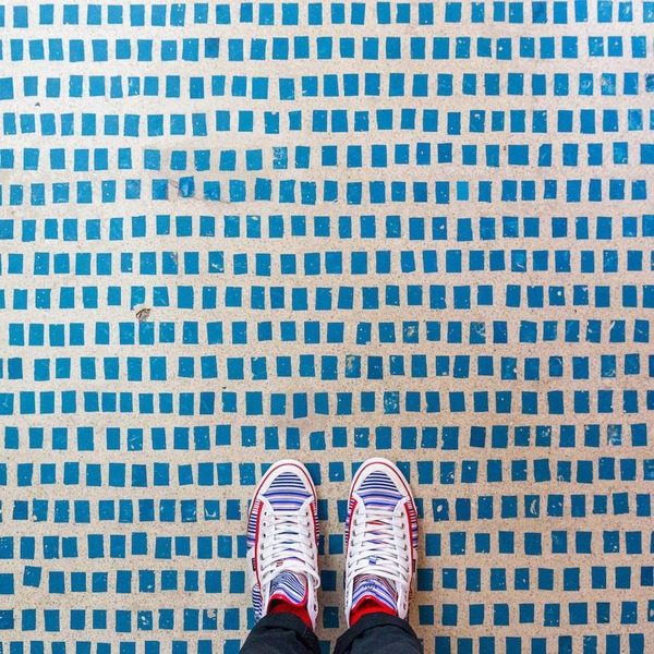 色んな床いっぱい。イタリア、ヴェネツィアの床のデザイン (3)
