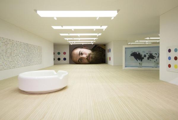 ミニチュア美術館を観に来たらアートの一部になっちゃった人達 (1)