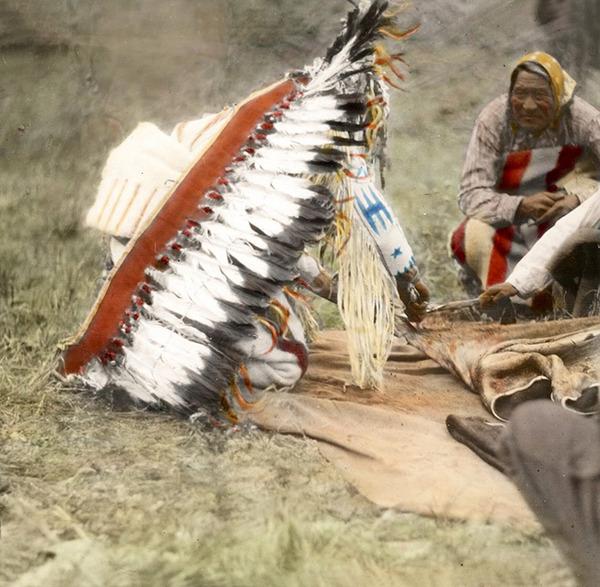 インディアン(ネイティブ・アメリカン)の貴重なカラー化写真 (6)
