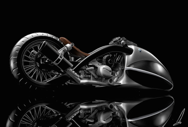 BMW Apollo Streamliner Motorcycle Concept 3