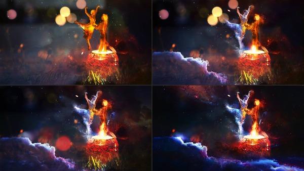 CGのメイキング画像 (5)