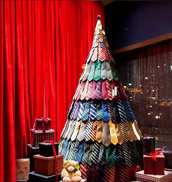 一味違ったちょっとクリエイティブなクリスマスツリー画像! (9)