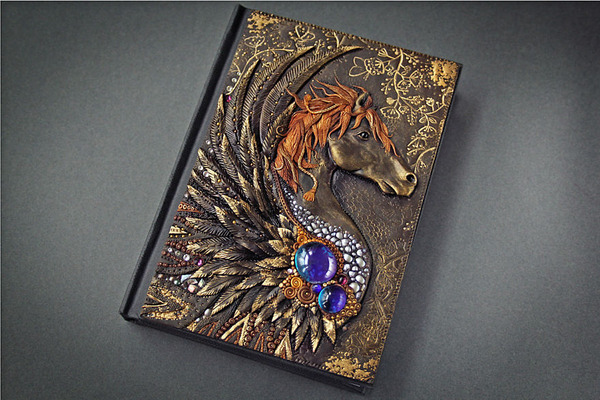 動物や自然をモチーフにした幻想的なブックカバー! (15)