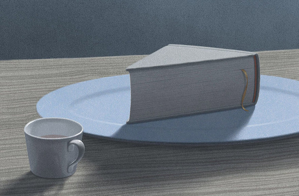 色んな本の形。本をモチーフにしたイラスト (6)