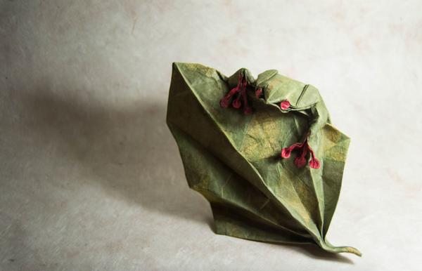 一枚の紙から折り紙で作る動物!折り紙アート (5)