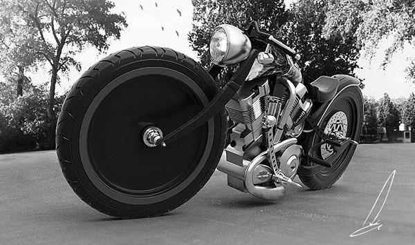 Custom Harley Davidson 2
