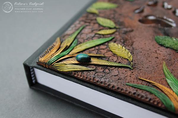 足跡ののブックカバー 3