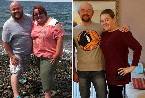 【比較画像】太ったカップルが痩せた (14)