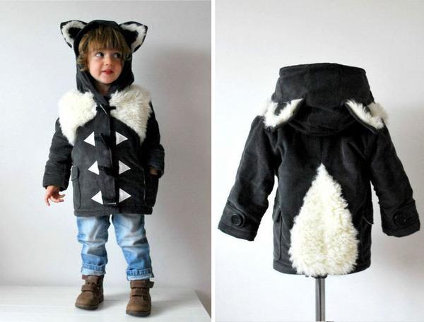 子供用の動物フード付きコートが反則的な可愛さ! (6)