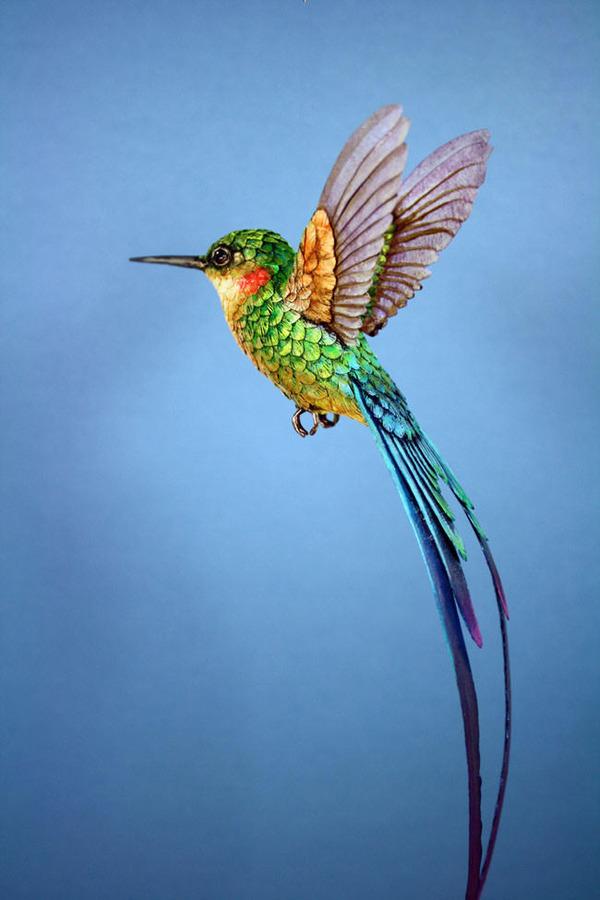 リアルな鳥の模型 4