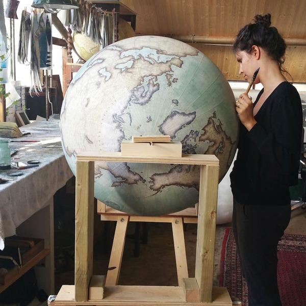 世界を旅したくなる。価値ある手作り地球儀の製作現場 (11)