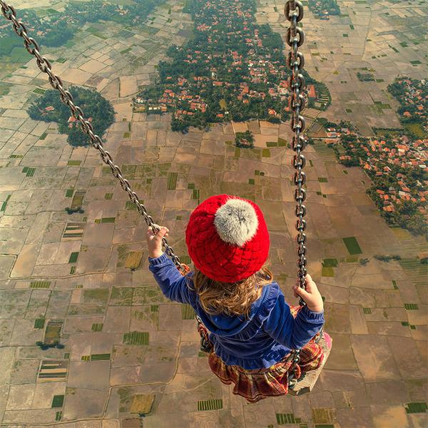 フォトショップで作る不思議な世界。超現実的な風景写真 (3)