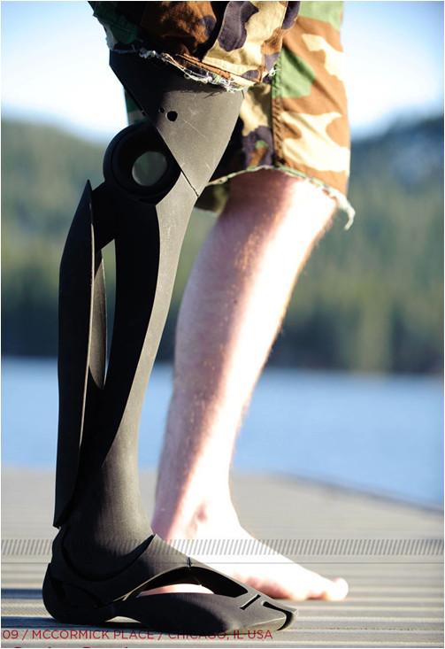 クールなデザインの義足・義肢 Scott-Stummit 3