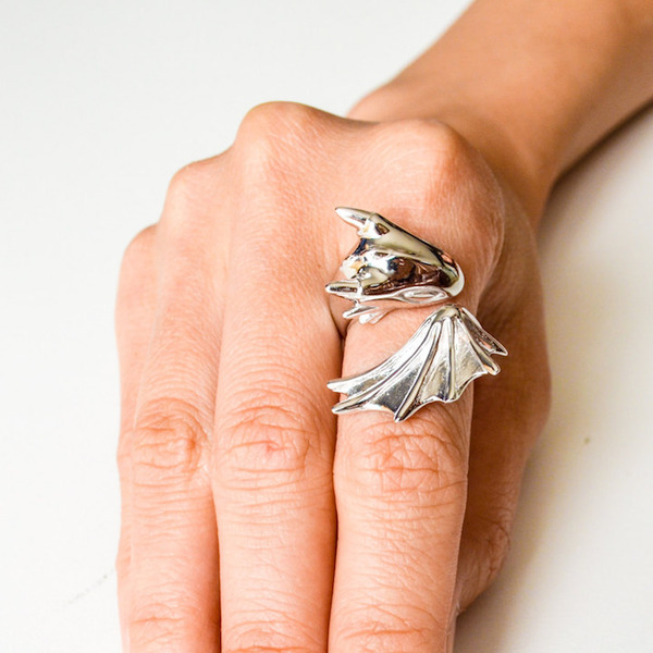 かっこかわいい。竜をモチーフにした指輪『ドラゴンリング』 (8)
