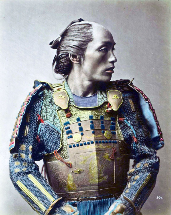 ラストサムライ…!19世紀、明治時代の侍の貴重な写真 (12)