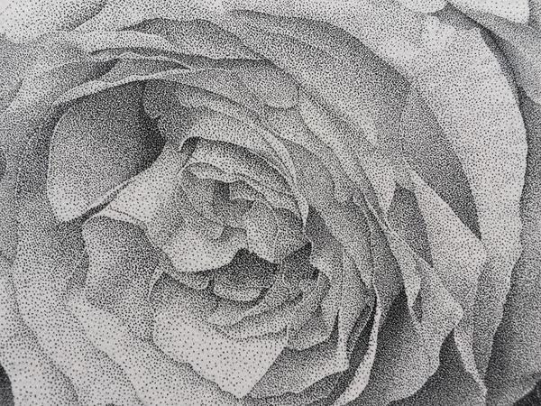 700万の点で描く!370時間をかけて制作された絵画『Autumn』 (6)