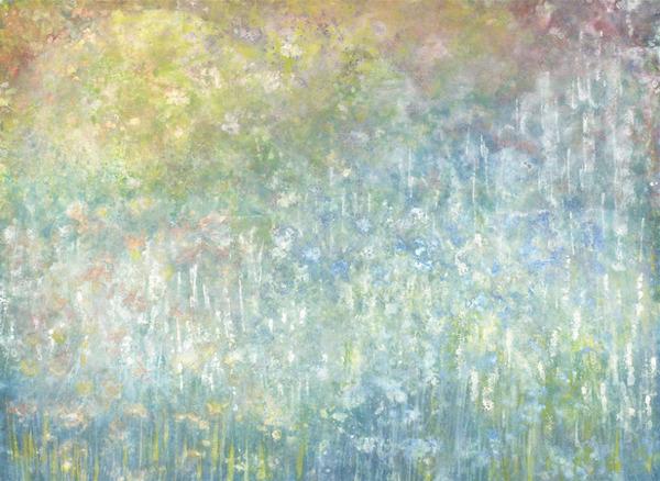 自閉症の6歳の少女が描く絵画が美しい! Iris Grace  (16)