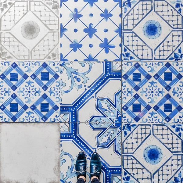カラフルで多様なロンドンの床の写真シリーズ (5)