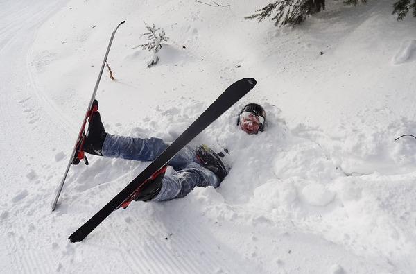 スキーをはじめた2