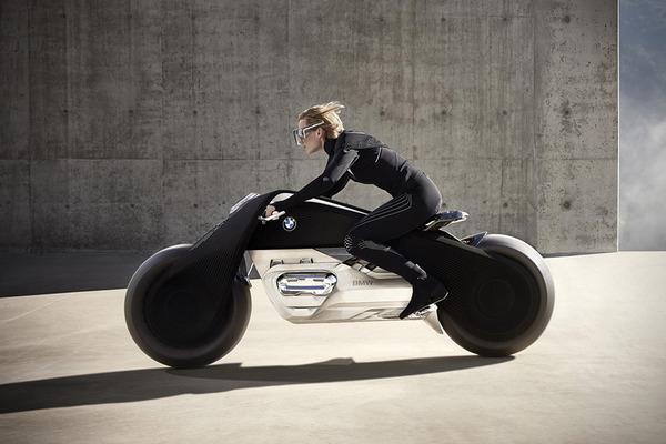 完全にSF!BMWのコンセプトバイク「VISION NEXT 100」 (6)