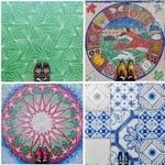 足元に注目!カラフルなロンドンの床の写真シリーズ