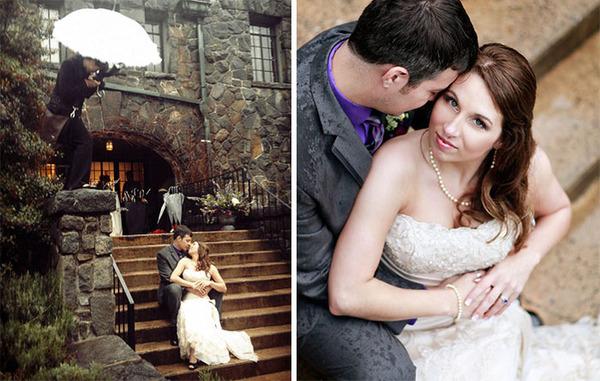 結婚写真の裏で頑張るカメラマンの努力画像 (2)