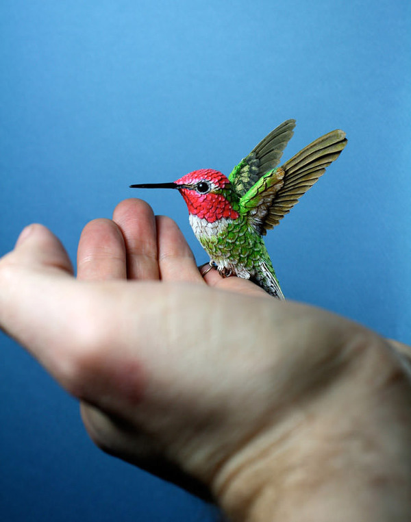リアルな鳥の模型 5