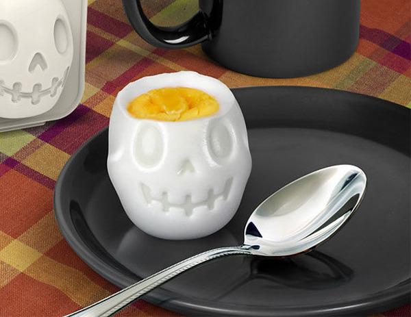 骸骨型ゆで卵