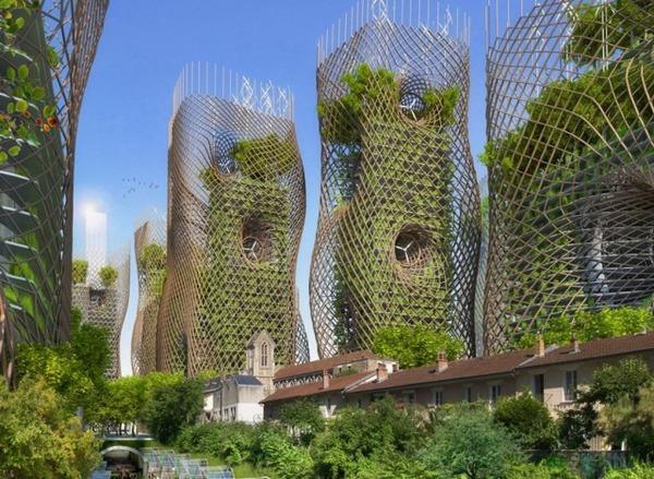 未来の都市イメージ