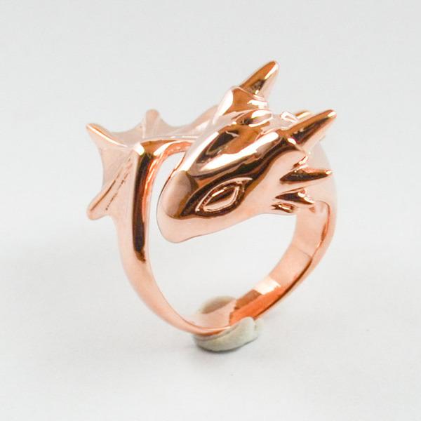 かっこかわいい。竜をモチーフにした指輪『ドラゴンリング』 (2)