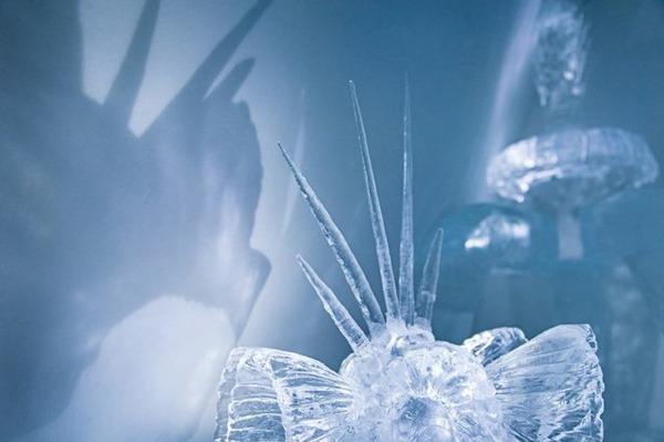 氷のオブジェクト
