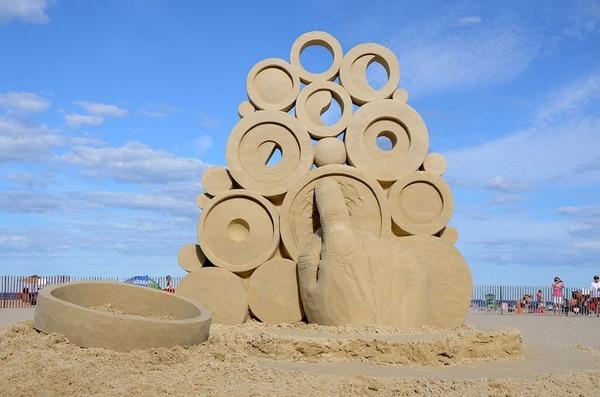 砂の彫刻コンテスト ハンプトン・ビーチ (9)