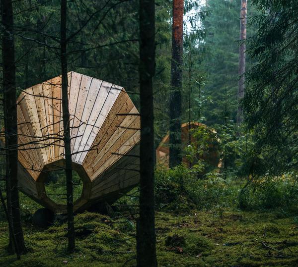 癒し効果がきっと一杯!森の音を聴く超大きなメガホン (3)