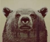 自然と動物の一体化グラデーション!二重露光スタイルによる写真