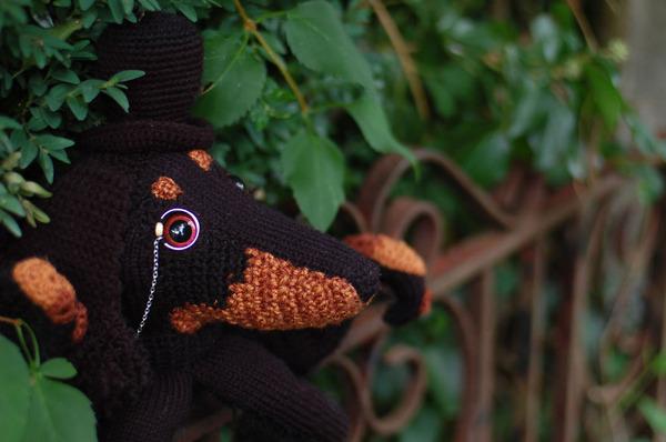 キモカワ?タコの足とイヌの顔が合体している編み物『Octodogs』 (6)