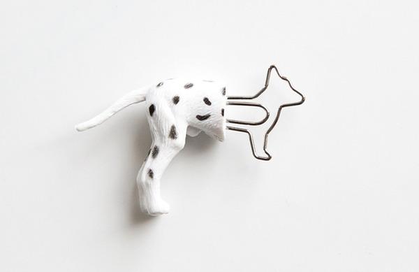 シンプルかわいい!面白い形をした動物の栞(しおり) (2)