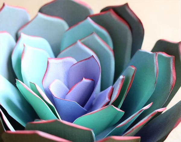 生き生きしてる!本物みたいな紙の花 (9)