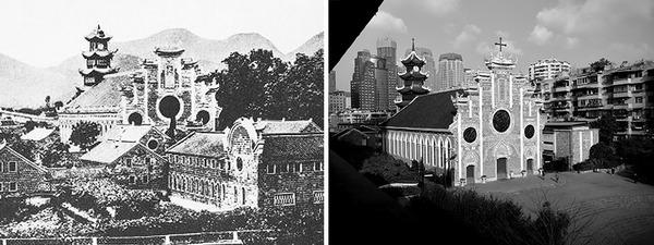 発展した中国の都市風景を比較!過去と現在の画像100年 (5)