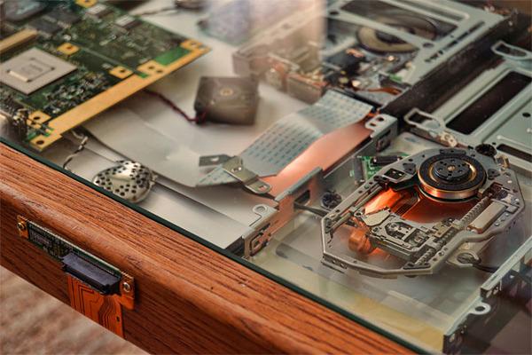 スチームパンクっていいよね。真鍮、銅、金属部品で作る家具 (14)