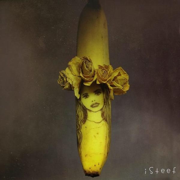 バナナのアート (14)