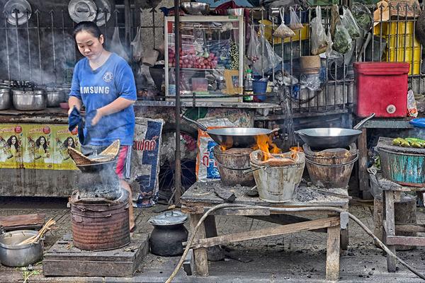 タイの食堂屋台2