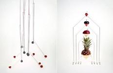 フルーツを飾るためのユニークなガラスデザイン『Tutti Frutti』